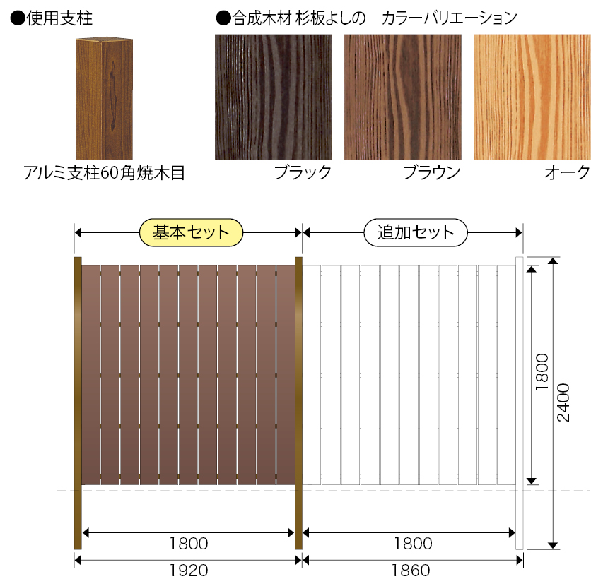 イコー板垣セット30型 竪板張 片面張