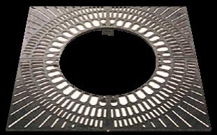 鋳鉄製 格子タイプ