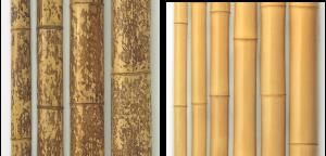図面角竹(真空加圧防虫処理品)