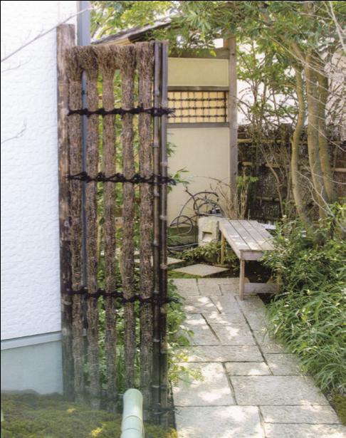 袖垣・木戸
